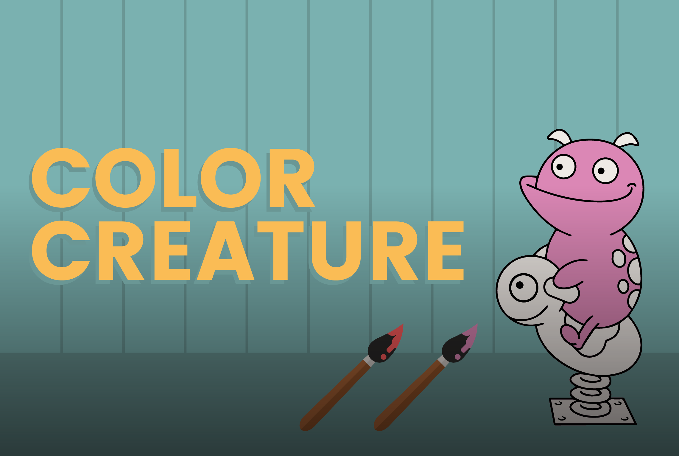 Color Creature - a game on Funbrain