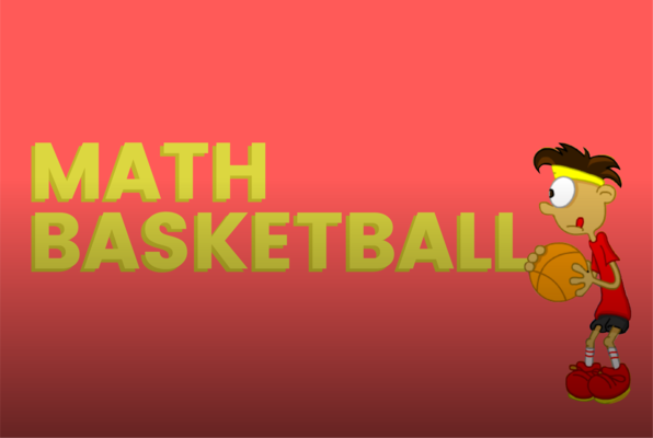 Math Basketball - a game on Funbrain