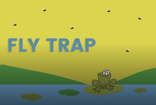 Fly Trap - a game on Funbrain