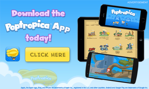 Download the Poptropica App Today! Click Here.