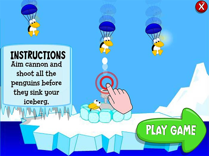 Penguin Drop | Games for Kids