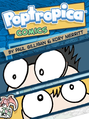 Poptropica Comics Cover