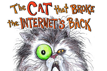Cat that Broke the Internet's Back Logo
