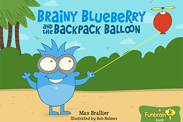 Read Brainy Blueberry And The Backpack Balloon