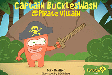 Read Captain Buckleswash And The Pirate Villain