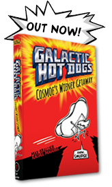 Galactic Hot Dogs Book Now Available