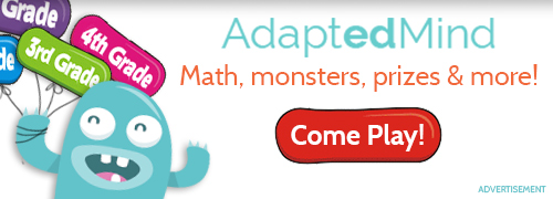 AdaptedMind - Math, monsters prizes & more! Come Play!
