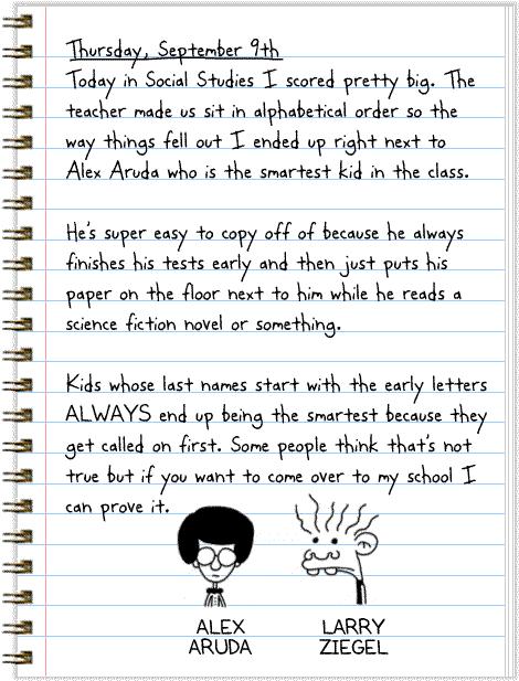Diary Of A Wimpy Kid Funbrain Com Kid Diary
